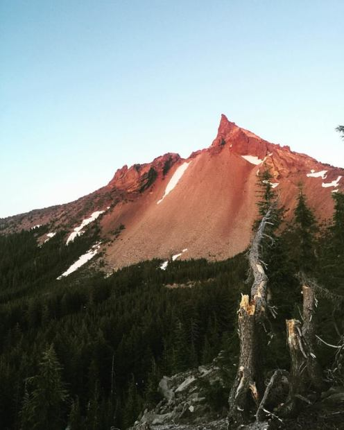 Mt Thielson, Oregon